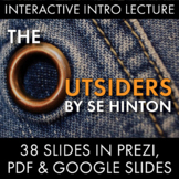 The Outsiders Dazzling Lecture Materials to Launch S.E. Hi