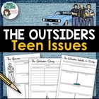 &quot;The Outsiders&quot; Graphic Organizers / Discussion prompts