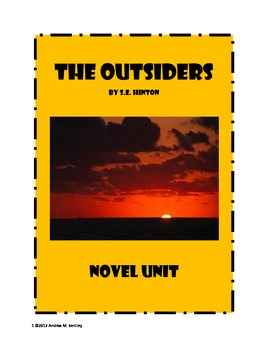 The Outsiders - Novel Study
