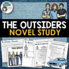 &quot;The Outsiders&quot; Project &amp; Assignment Pack