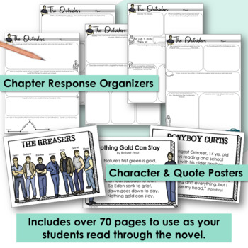 """The Outsiders"" Project & Assignment Pack"
