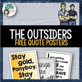 The Outsiders - Quote Posters - FREE!