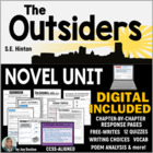 The Outsiders - Student-Ready Complete Novel Packet