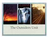 The Outsiders Unit PowerPoint- Standards Based