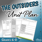 """The Outsiders"" by S.E. Hinton (Common Core Aligned)"