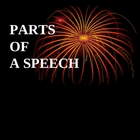 The Parts of a Speech PPT