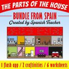 The Parts of the House BUNDLE from Spain