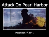 The Pearl Harbor Attack - Interactive Power Point {For Ele
