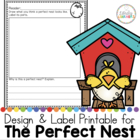 The Perfect Nest design and label printable