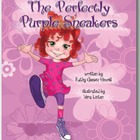 The Perfectly Purple Sneakers (New Hardcover Book)