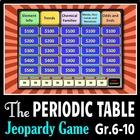 The Periodic Table - Jeopardy PowerPoint Game