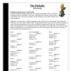 The Pinballs Guided Reading Word Study Vocabulary Common Core