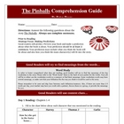 The Pinballs Reading Comprehension Guide Activities Lessons