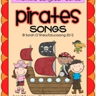 The Pirate Songbook (5 MP3 songs and 5 MP3 backing  tracks)