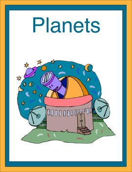 The Planets Thematic Unit