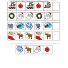The Polar Express Winter Christmas colored patterns activity