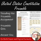 Interpreting the Preamble of the U.S. Constitution