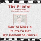 The Printer - How to Make a Four Cornered Printer's Hat