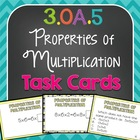 The Properties of Multiplication Task Cards