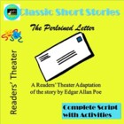 The Purloined Letter, by E. A. Poe, A Readers' Theater Adaptation
