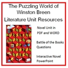 """The Puzzling World of Winston Breen"", by E. Berlin, Entir"