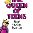 The Queen of Teens: Teen Numbers Pack