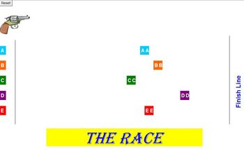 The RACE Review Activity - Classroom License  A Pinkley Product