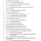 The Raven Edgar Allan Poe Guided Reading Worksheet, Crossw