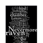The Raven by Edgar Allen Poe Word Art Poetry Prints