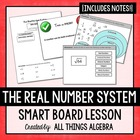 The Real Number System - Notes & Interactive Smart Noteboo
