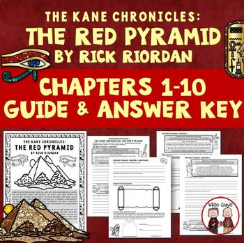 FREE The Red Pyramid Comprehension Questions Chapters 1-10