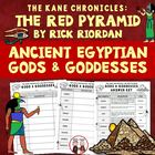 The Red Pyramid Egyptian Gods Worksheet Activity and Key (