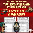 The Red Pyramid Egyptian Pharaohs Worksheet Activity and Key