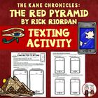 The Red Pyramid text messaging comprehension activity (5 pages)