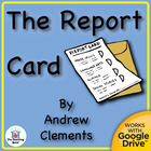 The Report Card Novel Unit CD ~ Common Core Aligned!