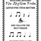 The Rhythm Train Game - Ta, Ti-Ti &amp; Rest - Kodaly