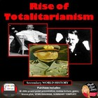 The Rise of Totalitarianism Lecture &amp; Review Game (World History)