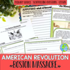 The Road to Revolution ! Lesson #3 - The Boston Massacre