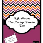The Roaring Twenties Test
