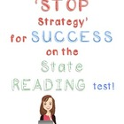 The STOP Strategy Lesson for State Reading Tests (FCAT) SUCCESS!