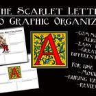 The Scarlet Letter Movie Graphic Organizer Bundle