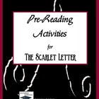 The Scarlet Letter Pre-Reading Activities and Ideas
