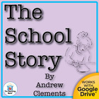 The School Story Novel Unit CD~ Common Core Aligned!