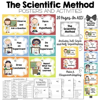 The Scientific Method Posters and Activities