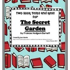 The Secret Garden by Frances H. Burnett: Two Book Tests and Keys