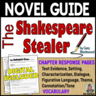 The Shakespeare Stealer: Student-Ready Novel Guide - Commo