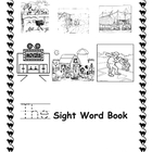 """The"" Sight Word Coloring Book for Kindergarten"