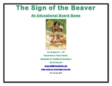 The Sign of the Beaver Board Game