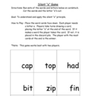The Silent &quot;e&quot; Game