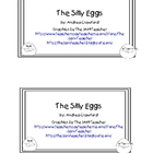 The Silly Eggs Sight Word Emergent Reader for Easter